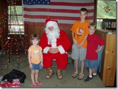 Santa and the kids-2